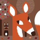 Woodland Friends II by Sophie Ledesma