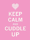 Keep Calm Cuddle by The Vintage Collection