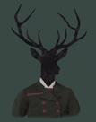 Deer Man by Clara Wells