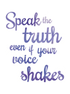 Inspire - Truth by Sasha Blake