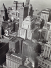 Financial District Rooftops, Manhattan by Berenice Abbott