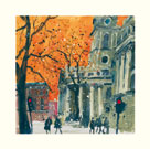 Everyone Welcome, St Martin in the Fields, London by Susan Brown
