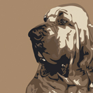Bloodhound by Emily Burrowes