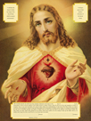 The Sacred Heart of Jesus by The Vintage Collection