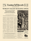 The World's Tallest Building Opens by The Vintage Collection