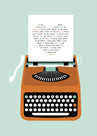 Typewriter Heart by Nadia Taylor