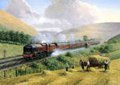 LMS The Royal Scot, Tebay Troughs, 1935 by Gerald Broom