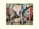 The Fever Van by L.S. Lowry