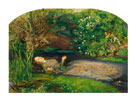 Ophelia, 1851-52 by Sir John Everett Millais
