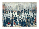 The Prayer Meeting by L.S. Lowry