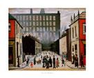 Street Scene (Pendlebury) by L.S. Lowry