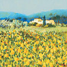 Lemon Grove, Tuscany by Hazel Barker
