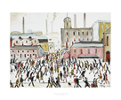 Going To Work, 1959 by L.S. Lowry