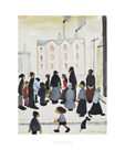 Group Of People, 1959 by L.S. Lowry