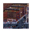 Harlem Street Scene, 1942 by Jacob Lawrence