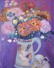 Floral Jug I by Andrea Tana