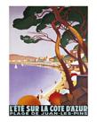 L'Ete Sur la Cote D'Azur by Roger Broders