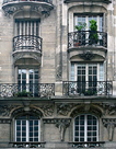 Balcon Parisien I by Tony Koukos