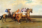 Under Starter's Orders by Sir Alfred Munnings