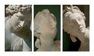 Louvre Triptych by Tony Koukos