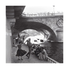 Rock 'n' Roll Dancers on Paris Quays, River Seine, 1950s by Paul Almasy