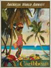 Vintage Travel Caribbean by The Portmanteau Collection
