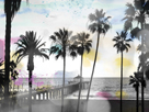 So Cal - Palm Paradise by Chuck Brody
