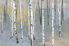 Silver Trees I by Tania Bello