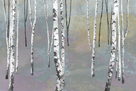 Silver Trees II by Tania Bello